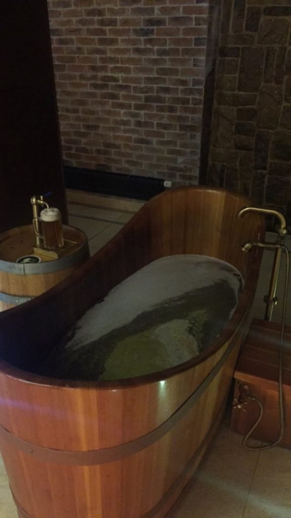 A Beer Bath in Plzen