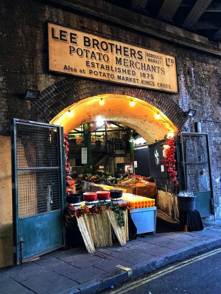 Borough Market is one of the best sights in London.]=
